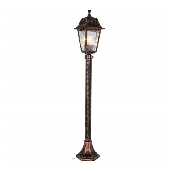Lamp bronzszínű kültéri világítás, magassága 97 cm