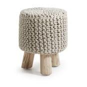 Sleek magas krém színű ülőke - La Forma