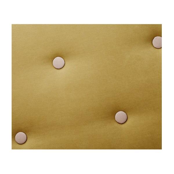 Constellation sárga bal oldali háromszemélyes sarokkanapé - Scandi by Stella Cadente Maison