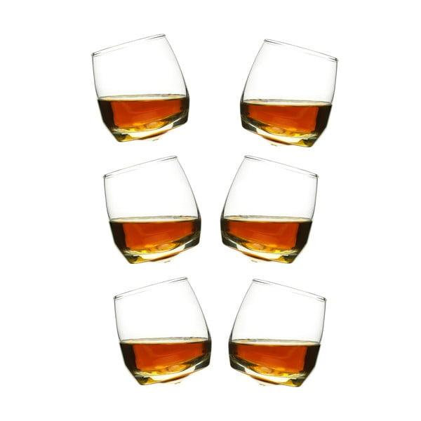 6 db-os hintázó whiskys pohár szett, 200 ml - Sagaform