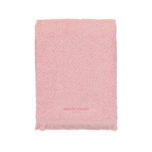 Marie Claire rózsaszín törölköző