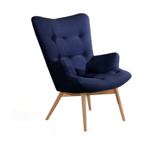 Aiko sötétkék fotel - Max Winzer
