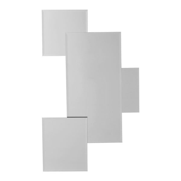 Spiegel Pebbles Squares tükör LED világítással - Kare Design