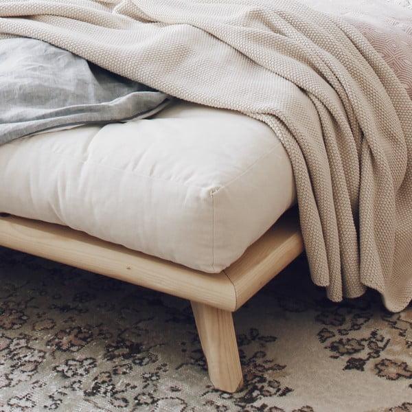 Senza Bed Natural ágy, 180 x 200 cm - Karup Design