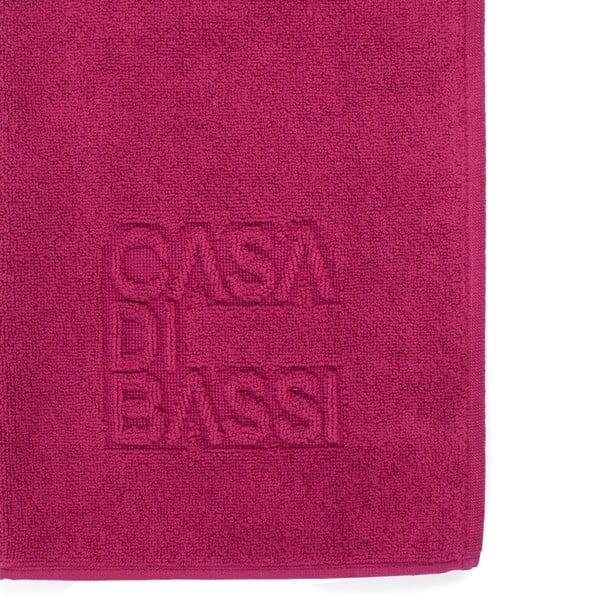 Basic bordó pamut fürdőszobai kilépő, 50 x 70 cm - Casa Di Bassi