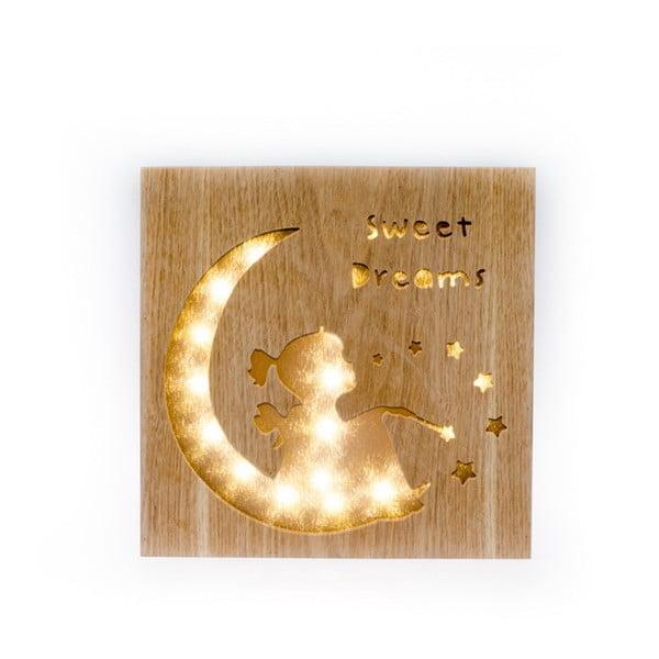 Sweet Dreams felfüggeszthető fából készült dekorációs világítás - Dakls