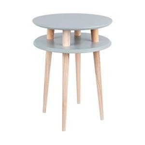 UFO sötétszürke dohányzóasztal, ⌀ 45 cm - Ragaba
