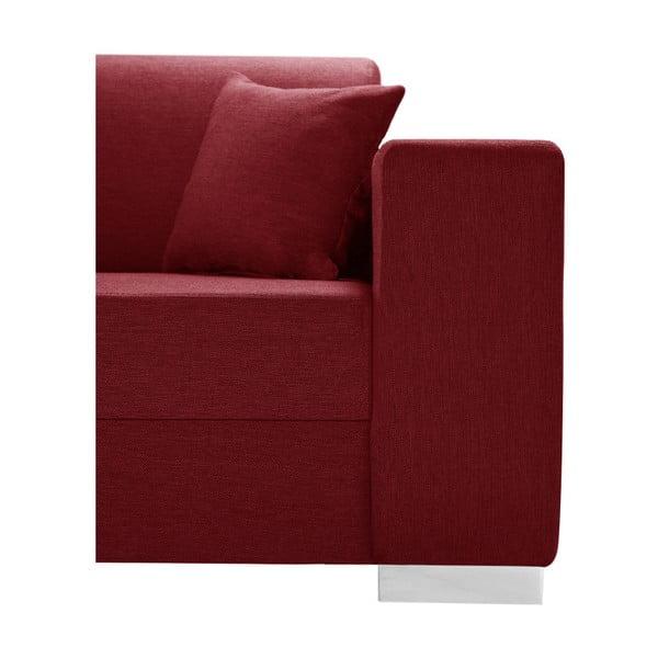 Perle piros kanapé, bal oldalas - Interieur De Famille Paris