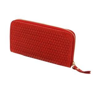 Cahlia piros pénztárca valódi bőrből - Andrea Cardone