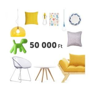 Virtuális ajándékutalvány 50000 Ft értékben