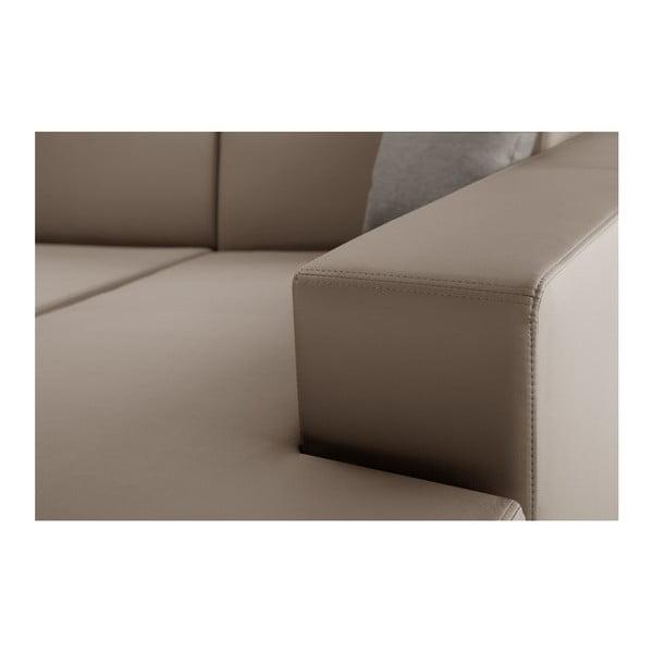 Tresor karamell színű kanapé, jobb oldalas - Interieur De Famille Paris