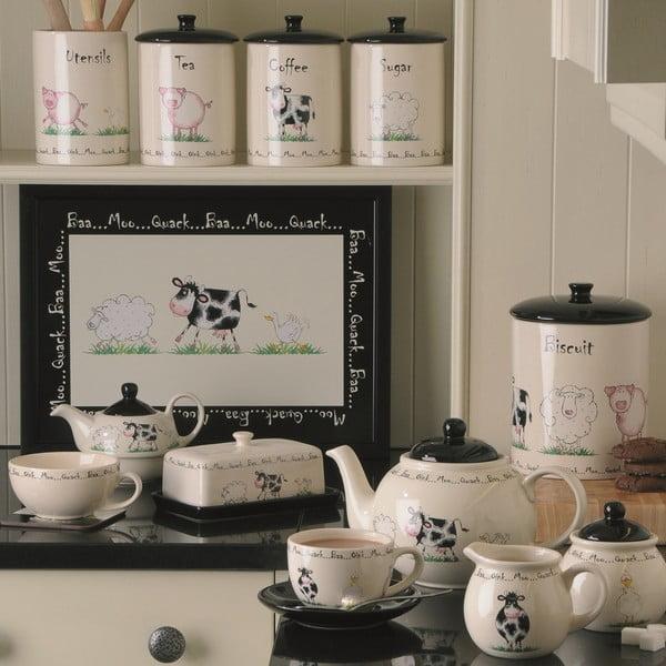 Home Farm 6 darabos agyagkerámia tányérkészlet, 20 cm - Price & Kensington
