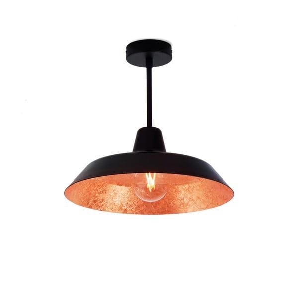 Cinco Basic mennyezeti lámpa fekete és réz színben - Bulb Attack