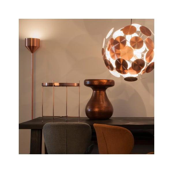 Antique rézszínű ülőke/kisasztal - Zuiver