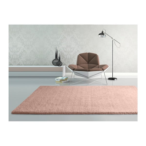 Shanghai Liso Rosa rózsaszín szőnyeg, 140 x 200 cm - Universal