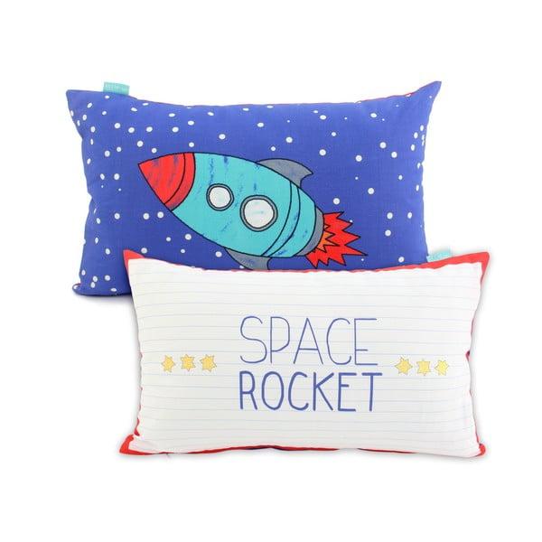 Rocket kétoldalas, pamut párnahuzat, 50 x 30 cm - Mr. Fox