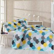 Damlan egyszemélyes ágytakaró párnahuzattal, 160 x 220 cm