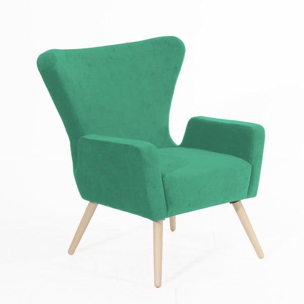 Luigi zöld fotel - Max Winzer