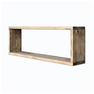 Simple fali polc fából