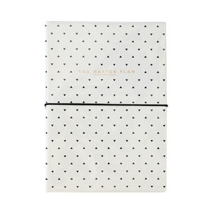 Alice Scott by műbőr jegyzettömb teendőlistával és tollal - Portico Designs