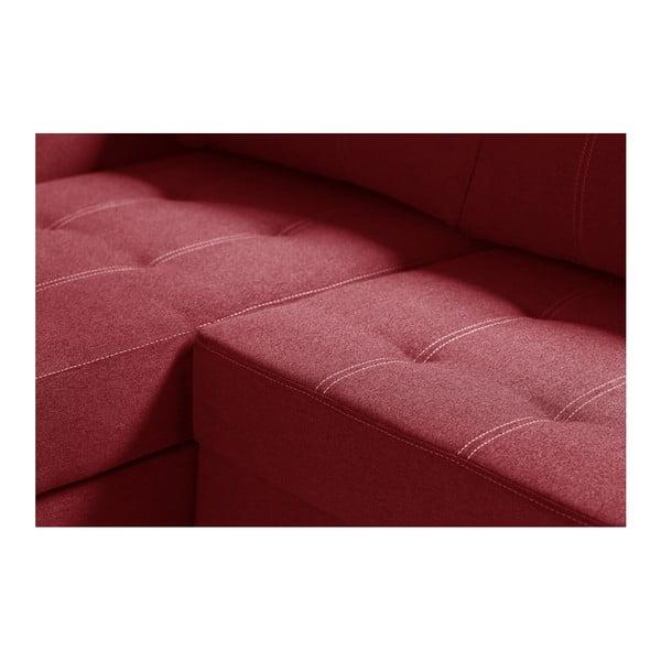 Succes piros kanapé, jobb oldalas - Interieur De Famille Paris