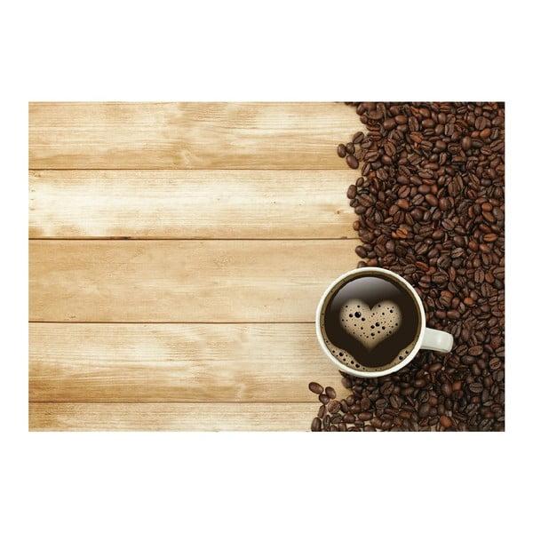 Coffee vinil szőnyeg, 52 x 75 cm - Zerbelli