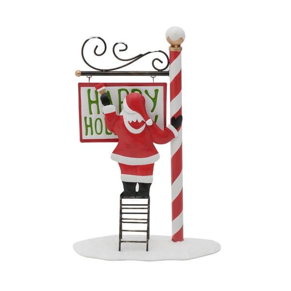 Gina Télapó formájú karácsonyi dekoráció - InArt