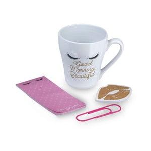 Lips bögre, öntapadó jegyzet és jegyzettömb ajándékcsomag - Tri-Coastal Design