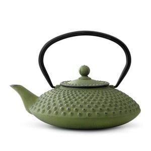 Xilin zöld öntöttvas teáskanna szűrővel szálas teához, 1,25 l - Bredemeijer