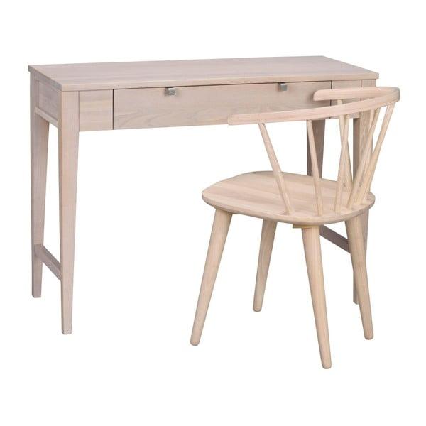 Fulla matt lakkozott tölgyfa konzolasztal - Folke