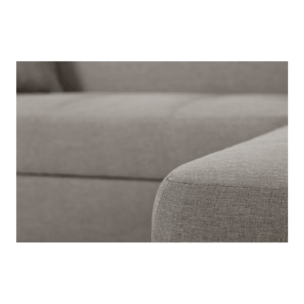 Bijou bézs kanapé, jobb oldalas - Interieur De Famille Paris