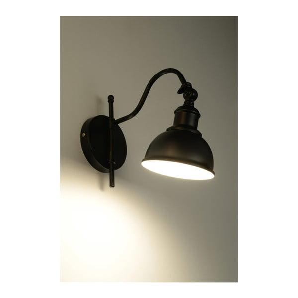 Isola Una fekete falilámpa - Nice Lamps
