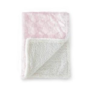 Estrellas rózsaszín babatakaró, 80 x 110 cm - Naf Naf