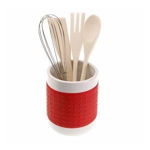 Piros konyhai eszköztartó - Versa