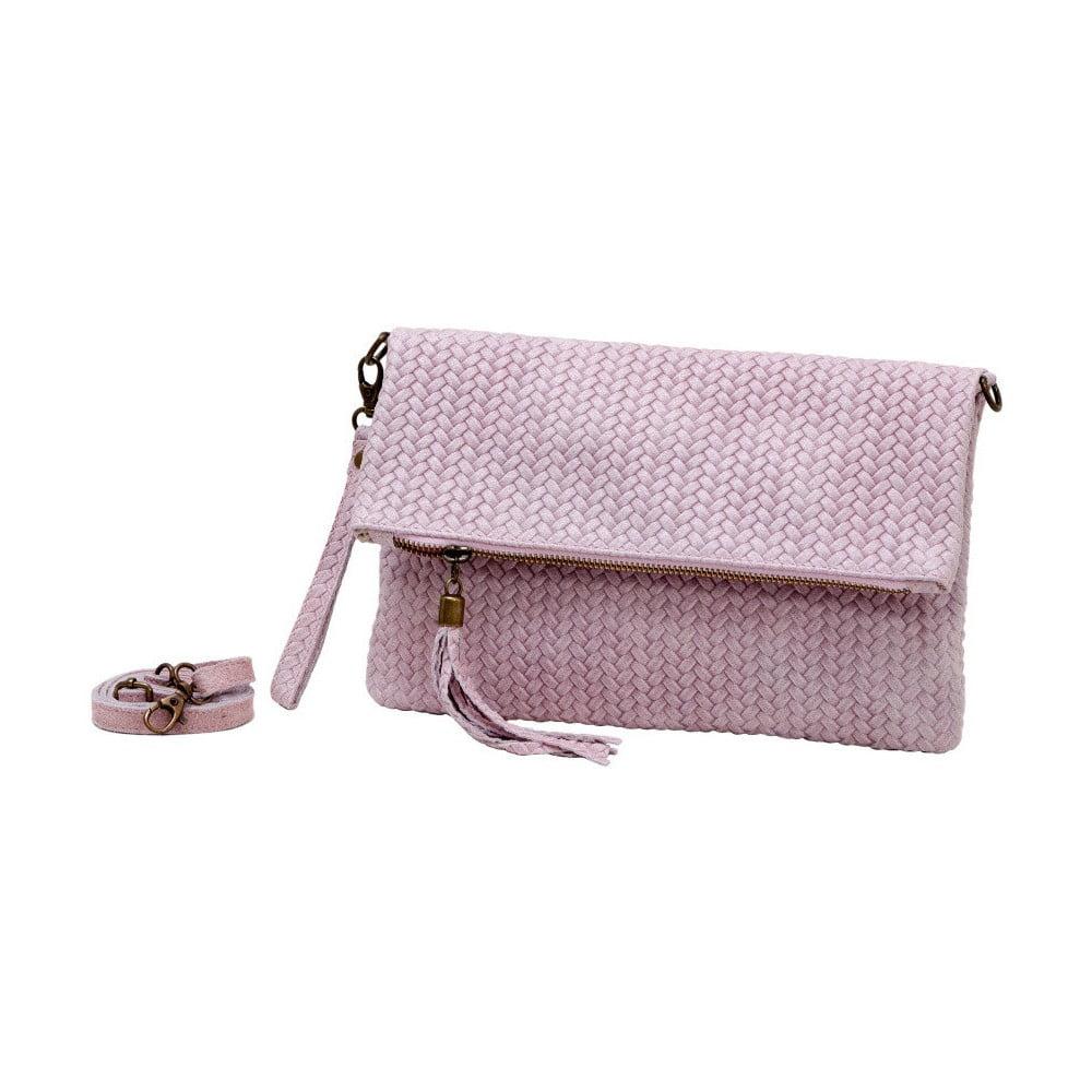 761f76d50fab Ricca világos rózsaszín valódi bőr borítéktáska - Andrea Cardone ...
