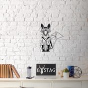 Wolf fém fali dekoráció, 50 x 40 cm
