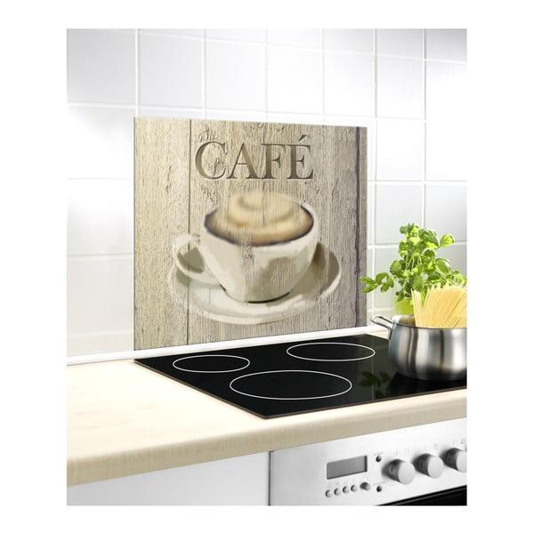 Café üveg falvédő tűzhely mellé, 60 x 50 cm - Wenko