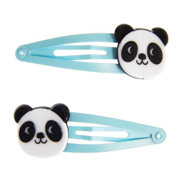 Miko The Panda 2 db-os hajcsat szett - Rex London