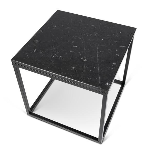 Prairie tárolóasztal márvány dekor asztallappal - TemaHome
