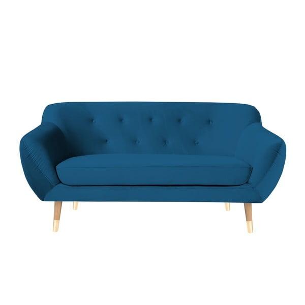 Amelie kék kétszemélyes kanapé - Mazzini Sofas