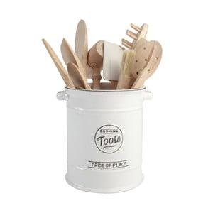Pride Of Place fehér kerámia konyhai eszköztartó - T&G Woodware