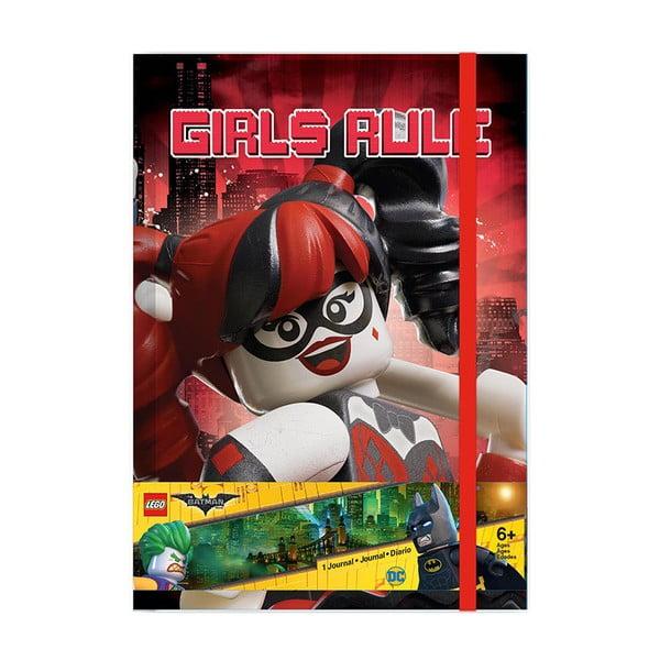 Batman Batgril Harley Quinn jegyzetfüzet - LEGO®