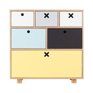 Magas színes szekrény - Durbas Style
