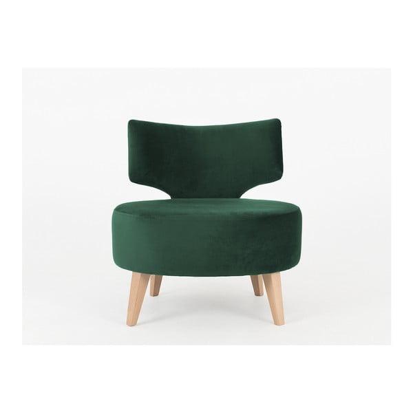 Flippin sötétzöld fotel - Costum Form