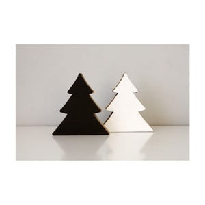 Kis, kétoldalas, fenyőfa formájú táblák -  Unlimited Design for kids