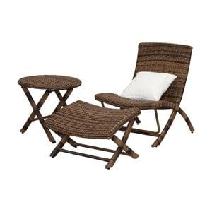 Havana barna kerti bútor garnitúra - Safavieh