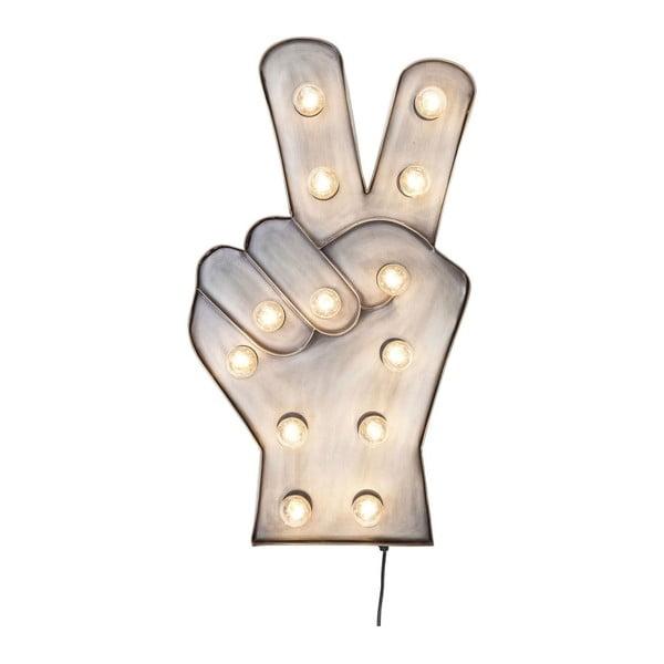 Peace fali LED dekoráció - Kare Design