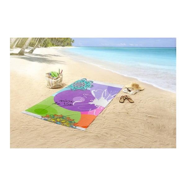 Vivant pamut strandtörölköző nyomtatott mintával, 100 x 180 cm - HIP