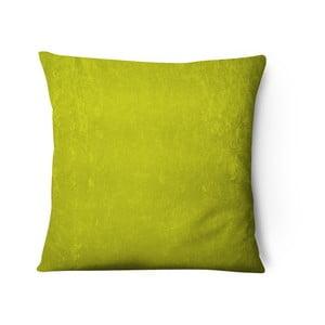 Series sárga-zöld, bársony párnahuzat, 43 x 43 cm