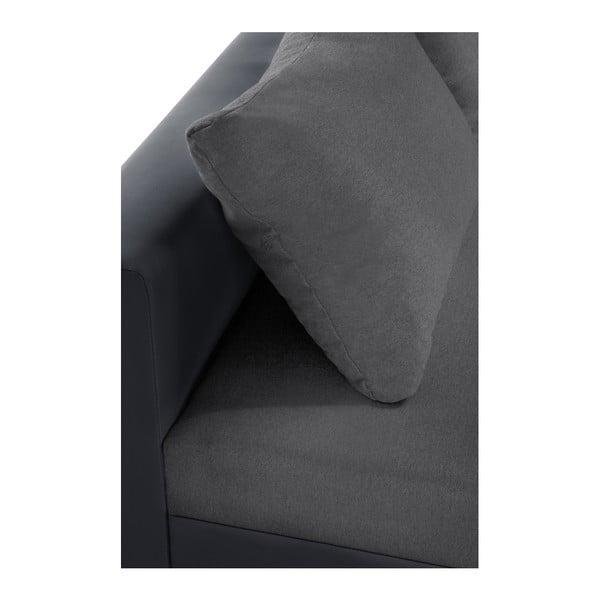 Aventure antracit kanapé, bal oldalas - Interieur De Famille Paris